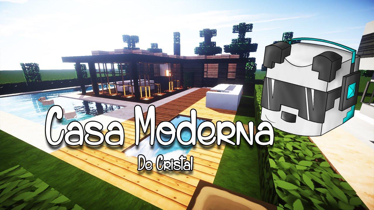 Como hacer una casa moderna en minecraft youtube - Como construir tu casa ...
