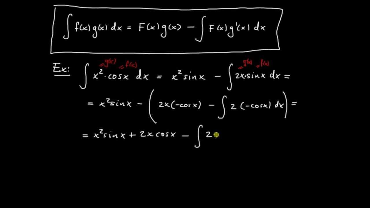 Primitiva funktioner del 5 - upprepad partialintegration