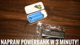 Napraw dowolny powerbank w 3 minuty za około 7zł