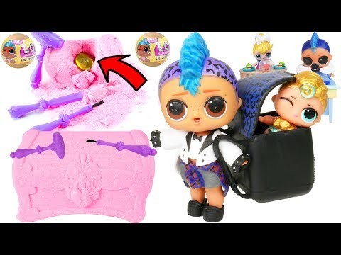Unboxed! Disney Princess Gem Dig It Season 2 | LOL Surprise! | Episode Lil Punk Girl Custom Doll 101