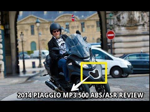 2014 Piaggio MP3 500 ABSASR Review
