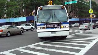 MTA NYC Bus: 1998 Nova-RTS B57 Bus #9435 & B13 Bus #9472 on Flushing Ave