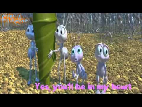A Bug's Life (A Flik & Dot Tribute) - You'll Be In My Heart (with lyrics)