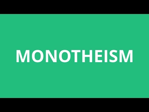 How To Pronounce Monotheism - Pronunciation Academy