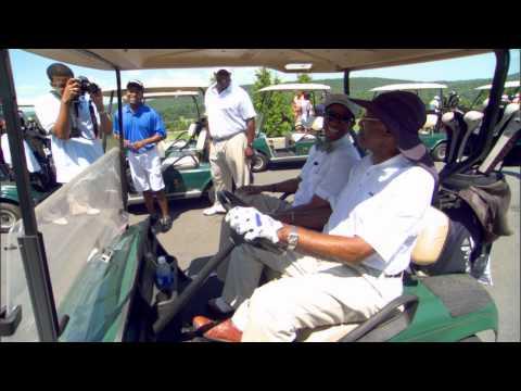 Sam Jones Honored at Golf Classic