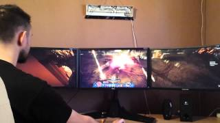 1x 780Ti Nvidia Surround - Diablo 3 RoS, BF4, Grid Autosport