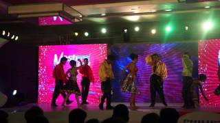 oorja dance troupe performs on south indian songs.MP4