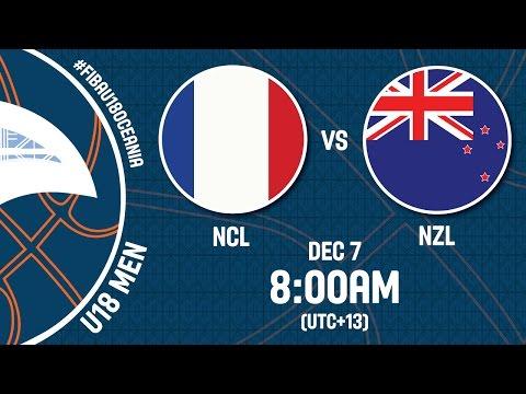 New Caledonia v New Zealand - Full Game - FIBA U18 Oceania Championship 2016