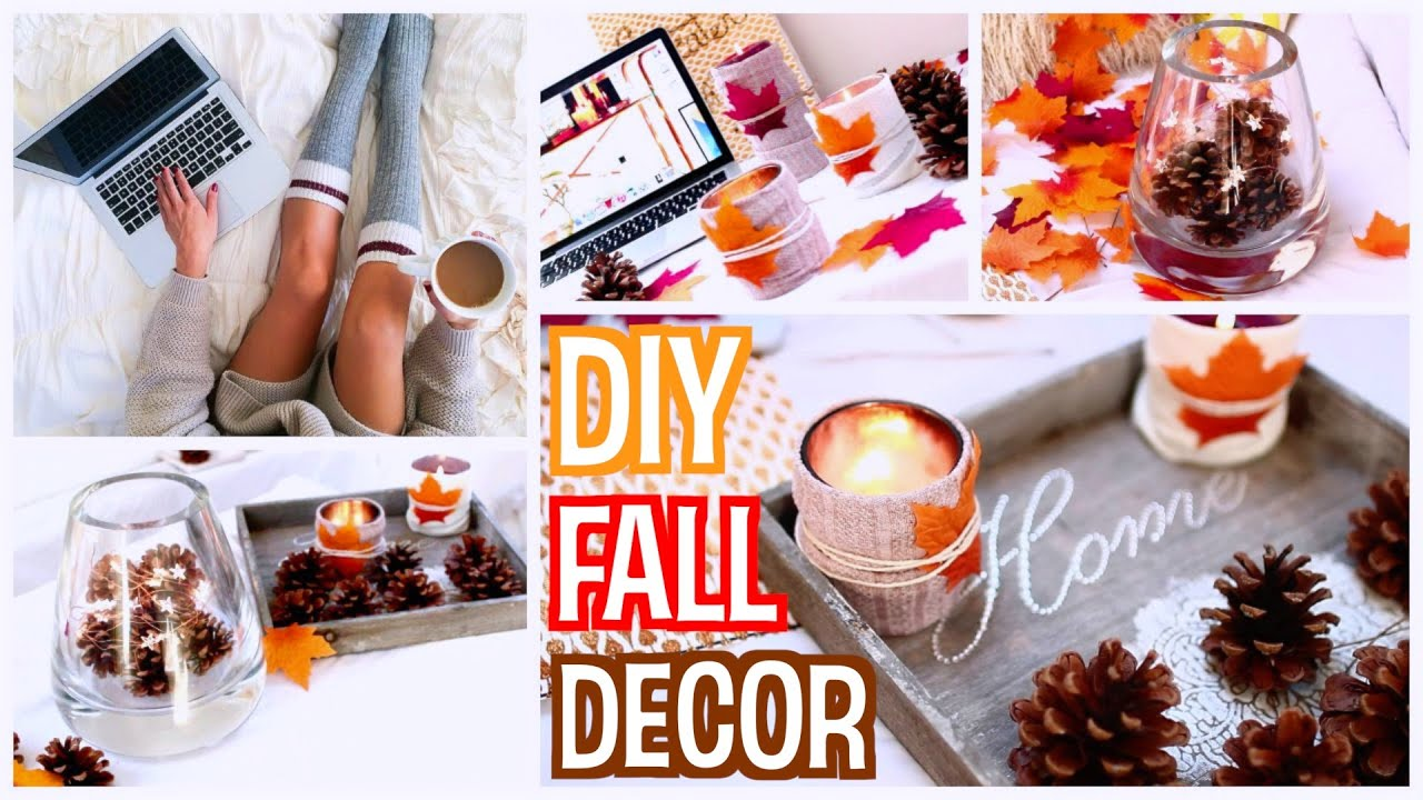 diy fall room decor make your room cozy for fall 2015 youtube