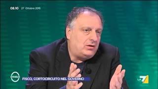 Omnibus - Fisco, cortocircuito nel Governo (Puntata 27/10/2015)