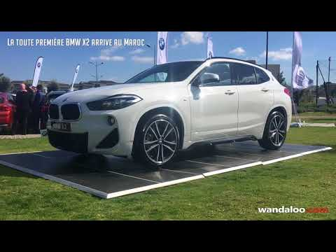 la toute premi re bmw x2 arrive au maroc youtube. Black Bedroom Furniture Sets. Home Design Ideas