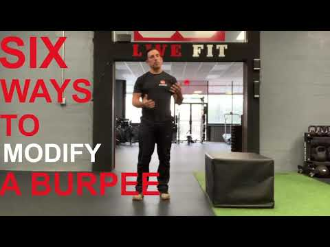 6 ways to perform and modify a Burpee