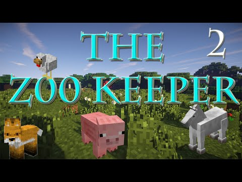 THE Z00 KEEPER - Mod Let's Play - Episode 2   BIG ASS CATS!