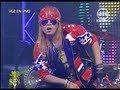 """Yo soy AXL ROSE 8-08-2012 peru - """"WELCOME TO THE JUNGLE""""  Yo soy 8 agosto.  yo soy peru"""
