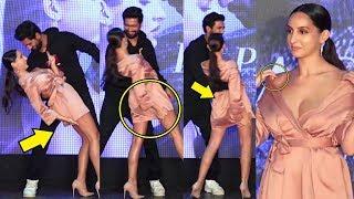 Nora Fatehi EMBARRASSSING Moments At Pachtaoge Song Party | Vicky Kaushal