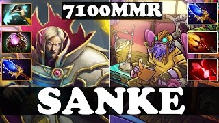 Baixar - Dota 2 Sanke 7100 Mmr Plays Invoker And Tinker Ranked Match Gameplay Grátis