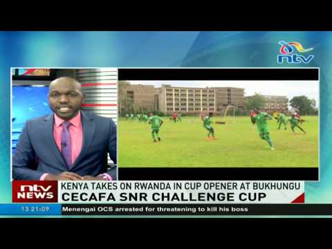 Kenya to take on Rwanda in CECAFA cup opener at Bukhungu