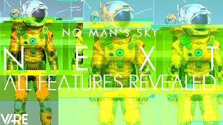 No Man's Sky NEXT | All Known Features! Player Variation | Ringed Planets | New Ships & Enemies?