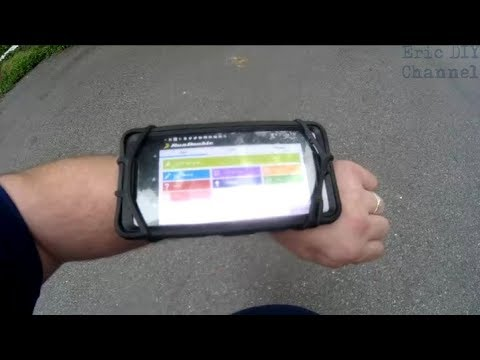 VUP Universal Sports Wristband Phone Holder Review