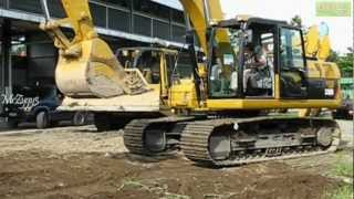 CAT 320D Working on Excavation Heavy Equipment Graveyard