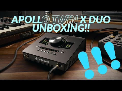 KITURE'S APOLLO TWIN DUO X UNBOXING & LOGIC PRO X SETUP!!!