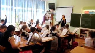 Фрагмент урока математики в 3 классе, учитель Демикова Н.Ф.