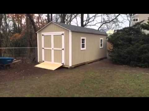 10x20 Shed Built In Bohemia NY