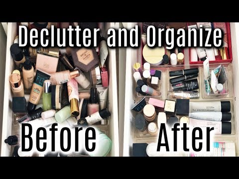 Decluttering and Organizing My Foundation Collection thumbnail