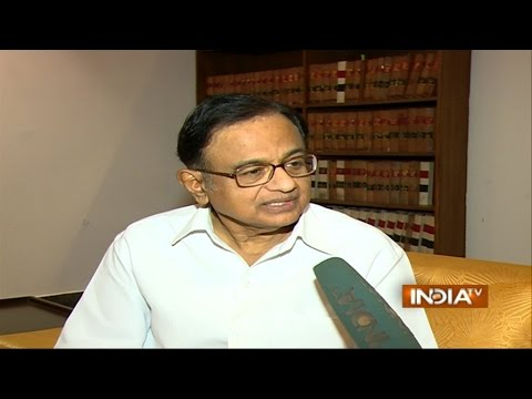 Parliament Disruption Not Because of National Herald Case: P Chidambaram