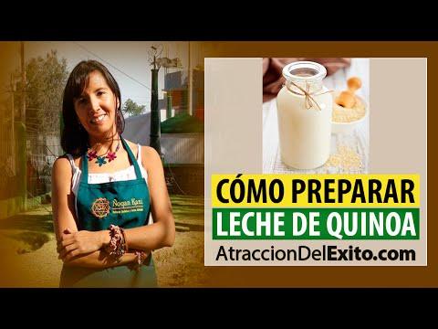 Cómo Preparar Leche de Quinoa - Quinua Fácil y Rápido