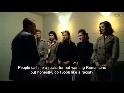 Hitler checks his new neighbours aren't Romanian