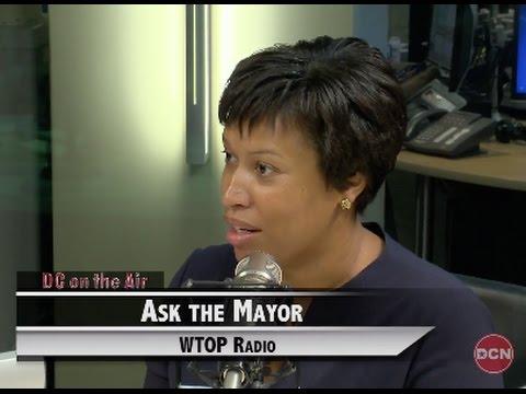 Mayor Bowser 'Ask The Mayor' WTOP Radio, 7/14/15