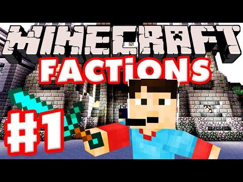 Minecraft Factions Part 1 - Starting Out! (Scottland Studios Public Minecraft Factions Server)