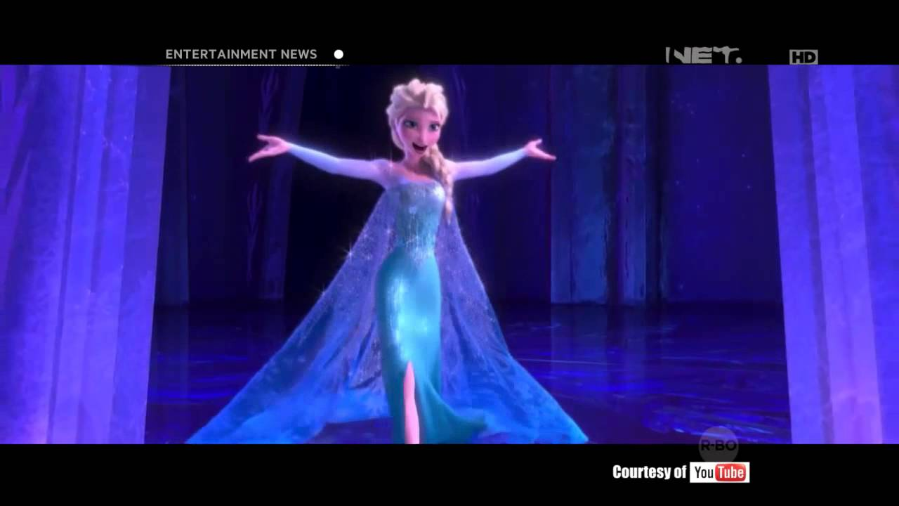 Frozen Film Animasi Dengan Pendapatn Tertinggi YouTube