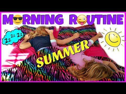 SUMMER MORNING ROUTINE - Magic Box Toys Collector