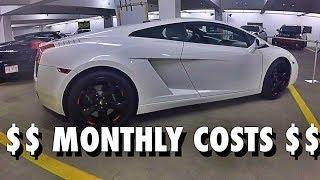 Lamborghini Gallardo Monthly Costs  How To Budget