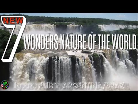 New Seven Wonders Nature Of The World