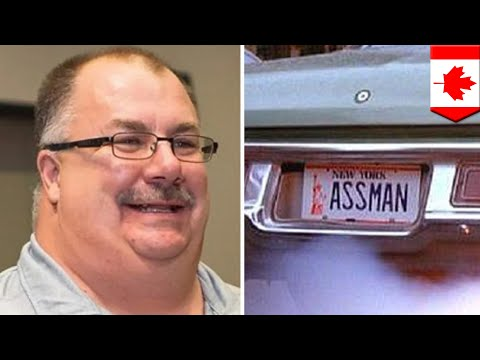 Canadian man can't get vanity license plate - TomoNews