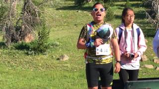 "Jim Diego - ""Star Spangled Banner"" at the 2017 Madison Marathon"
