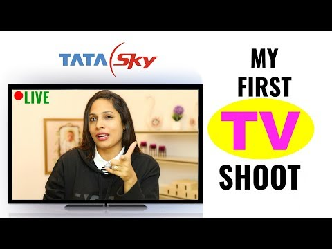 My First TV Serial Shoot - Behind The Scenes Vlogs | Shruti Arjun Anand