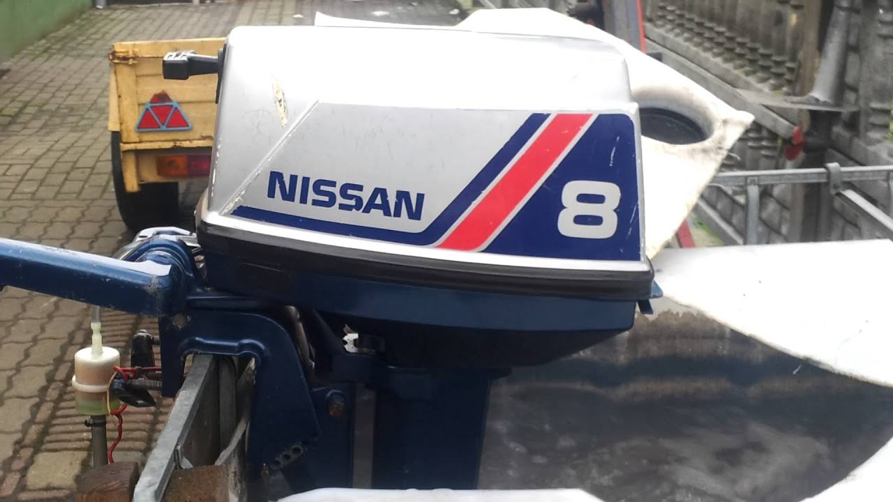 image long nissan shaft stroke outboard four