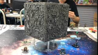 Star Trek Attack Wing (game): Battle of Wolf 359 with Borg Cube 112