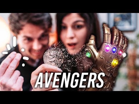 HOW TO SNAP VANISH like Thanos in AVENGERS
