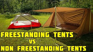 Free standing tent vs Non Free standing tent