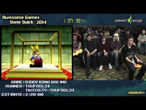 Diddy Kong Racing :: SPEED RUN (2:06:08) (100%) by Toufool31 #AGDQ 2014