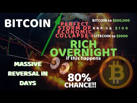 PERFECT STORM BITCOIN SCENARIO COMING TRUE | ECONOMIC COLLAPSE 10,000x CRYPTO GAINS | Must See