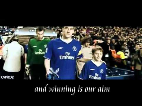 Chelsea Himno Song - Blue is the Colour (lyrics)