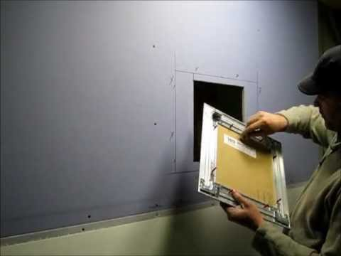 Access Panel Solutions Bauco Plus Ii Installation Video Youtube