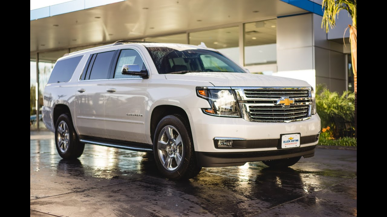 2016 Chevrolet Suburban LTZ [Full Tour] - YouTube