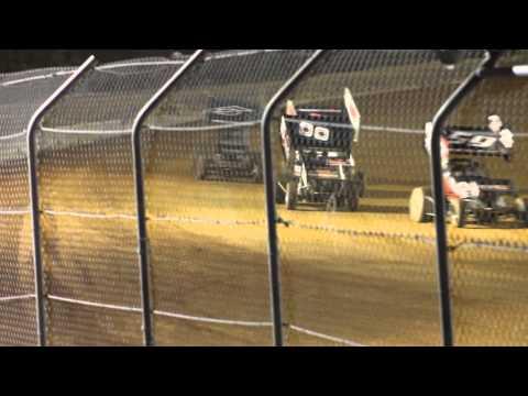 April 26, 2014--Ark-La-Tex Speedway--A Main--Sprint Series of Texas